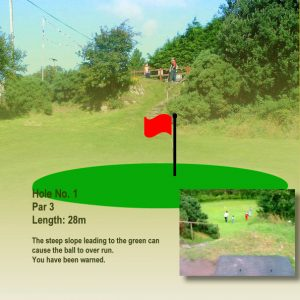 Course Hole 1