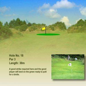 Course Hole 18