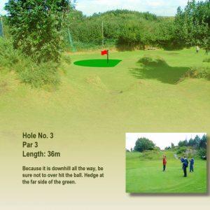 Course Hole 3