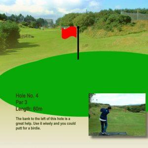 Course Hole 4