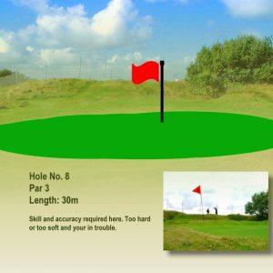 Course Hole 8